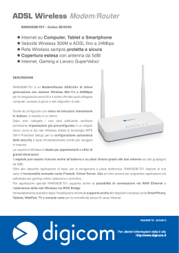 ADSL Wireless Modem/Router
