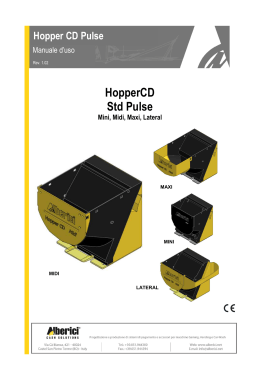 Manuale - ITA - Hopper CD Pulse