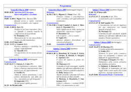 "Programma - Liceo Scientifico ""E. Fermi"""