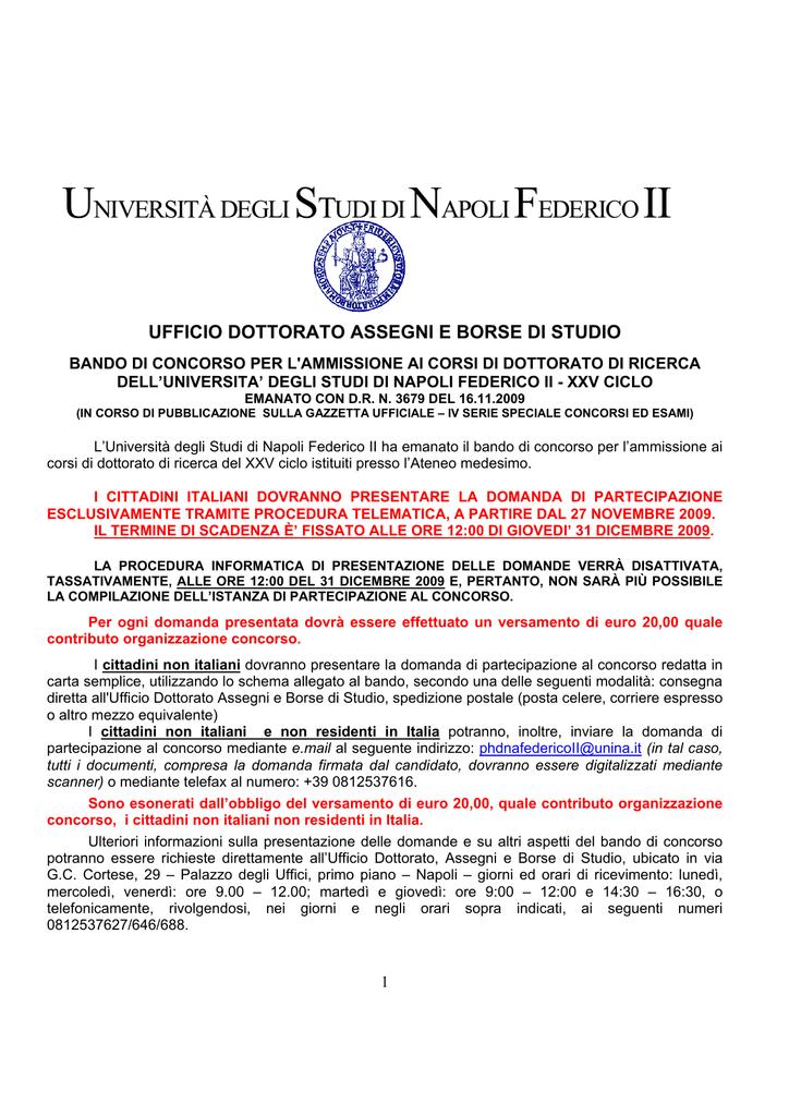 Calendario Esami Unina Ingegneria Meccanica.Universita Degli Studi Di Napoli Federico Ii