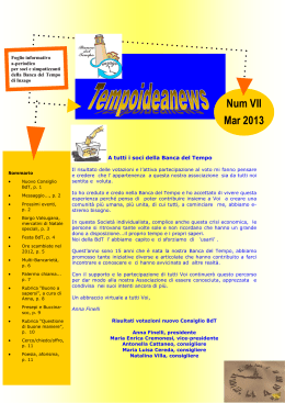 Tempoideanews nr. 07 / marzo 2013