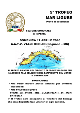 Trofeo Mar Ligure