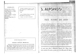 N.1 - Sant`Alfonso e dintorni
